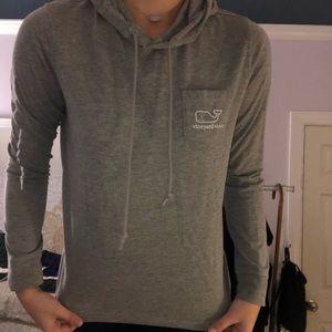 Gray Vineyard Vines sweatshirt